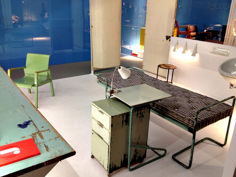 Designed by Alvar Aalto - the Paimio Sanatorium at Miami Design in Basel 2013