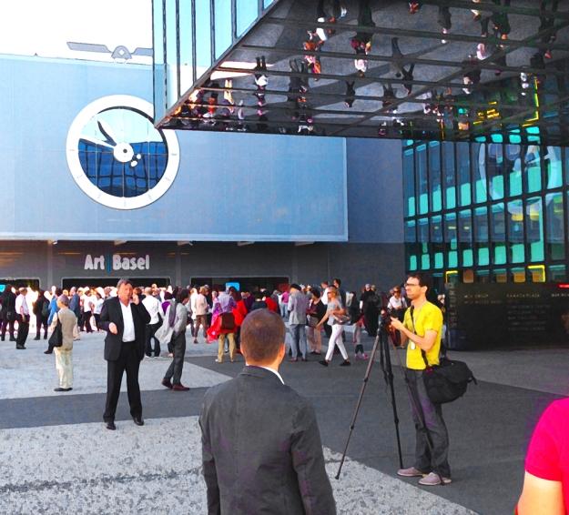Entrance to Art Basel © Jan Oberg 2013