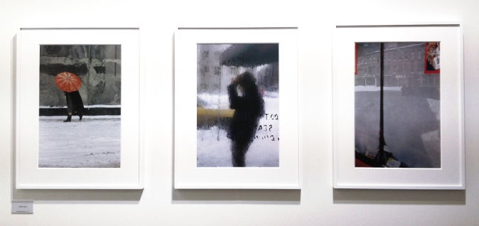 Saul Leiter works from about 50 years ago