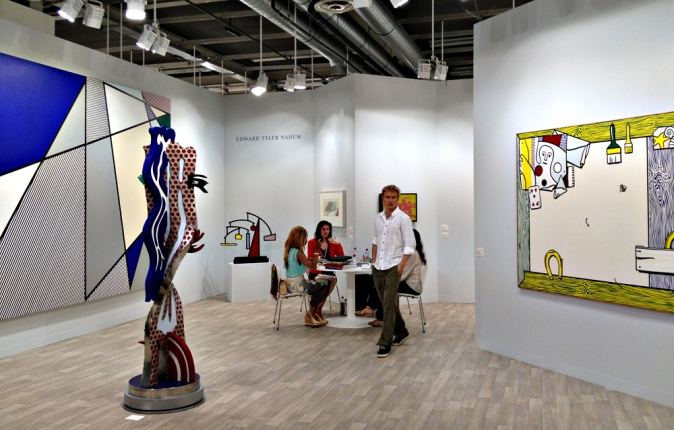 An entire space devoted to Roy Lichtenstein