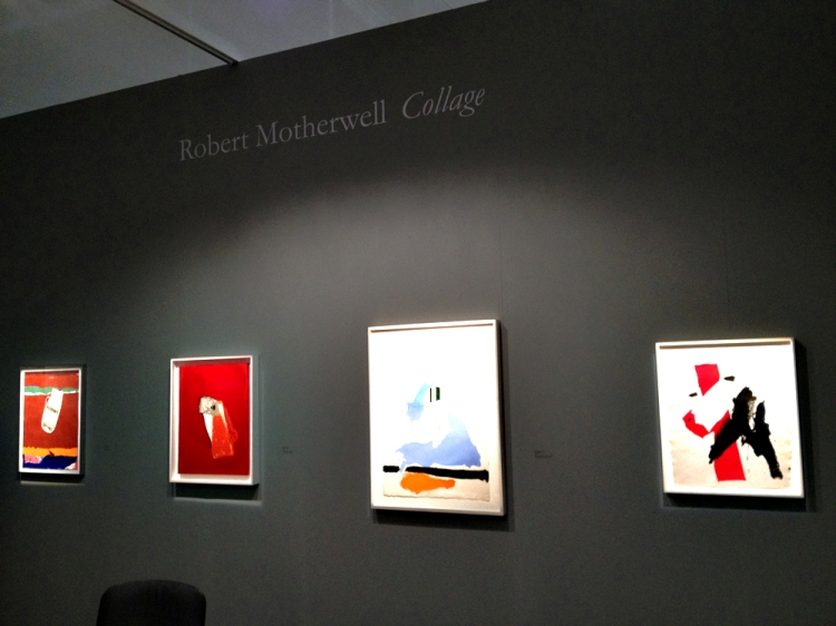 Collages by Robert Motherwell