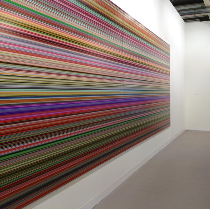 Gerhard Richter at Art Basel 2013