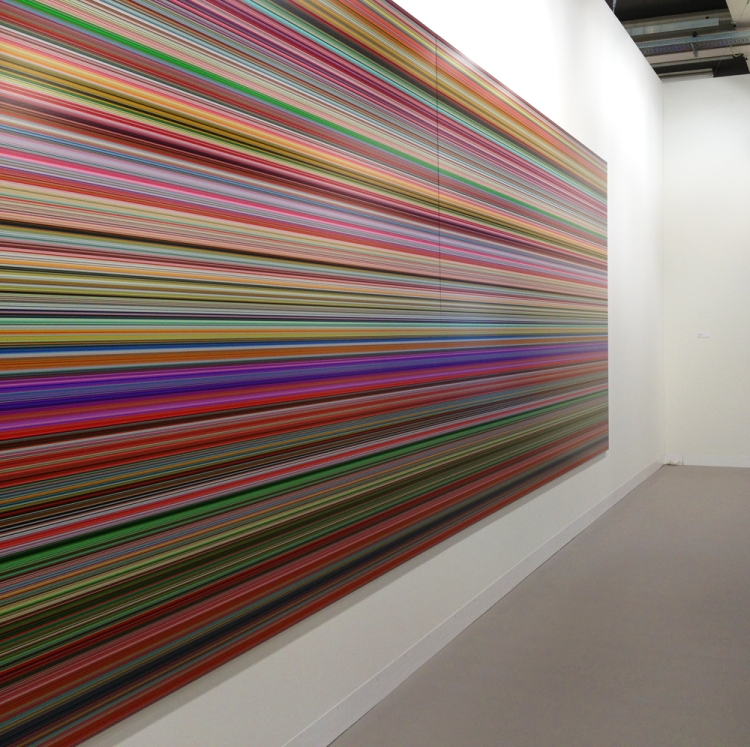 Gerhard Richter at Art Basel 2013