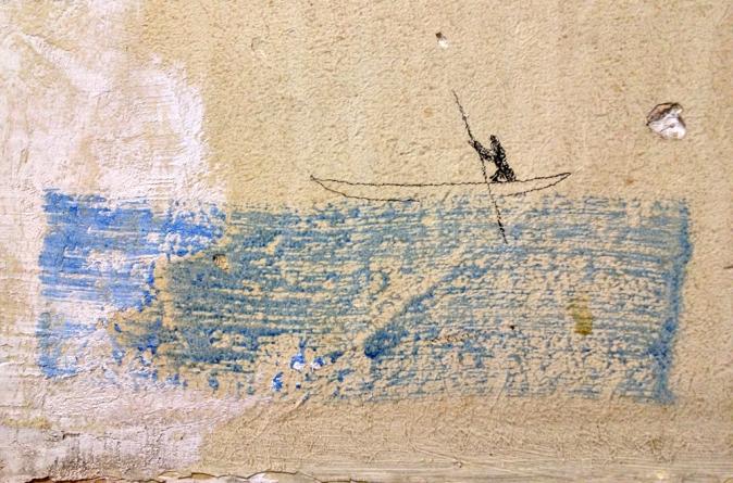 Brilliant little piece on a wall © Jan Oberg 2013