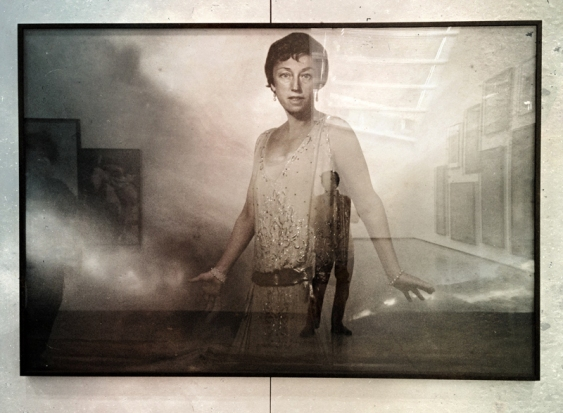 Cindy Sherman and me © Jan Oberg 2013