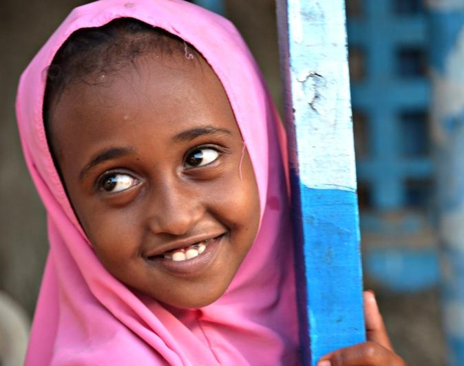 Girl in Berbera, Somaliland 2014