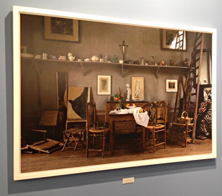 Joel Meyerowitz's photo of Cézanne's studio