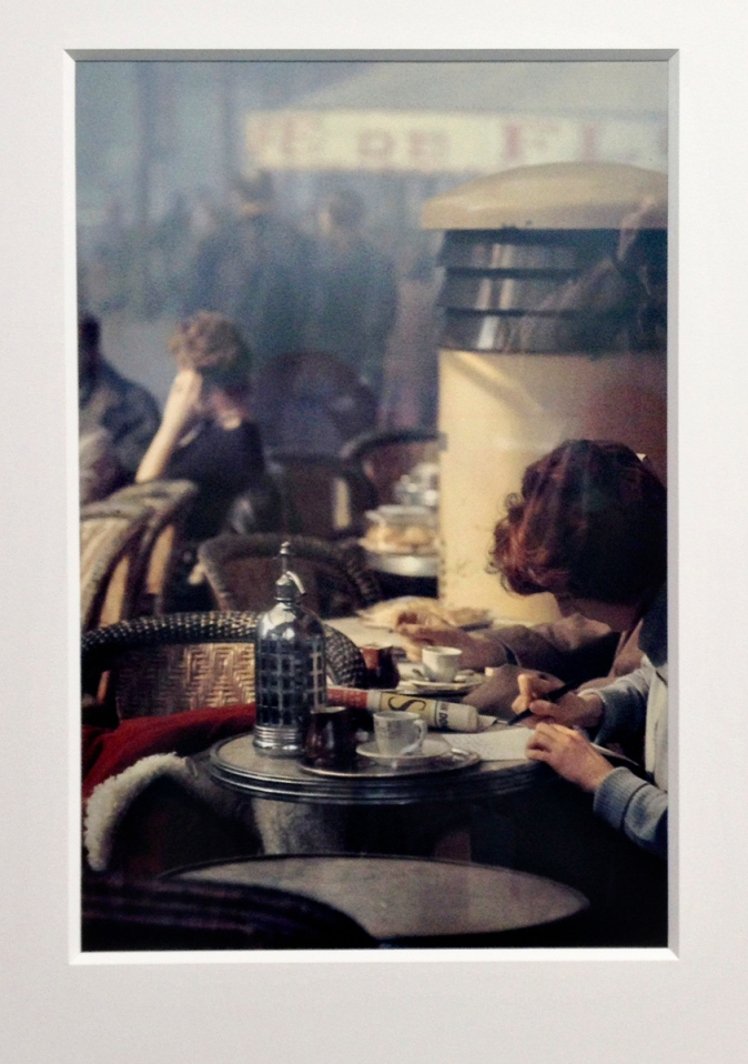 Saul Leiter - masterpiece in a rather small format.