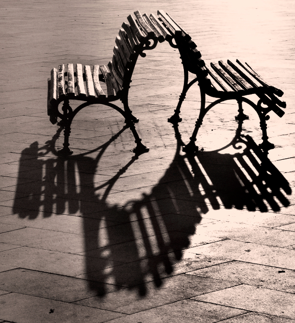 Venice Bench 2007 - © Jan Oberg 2007
