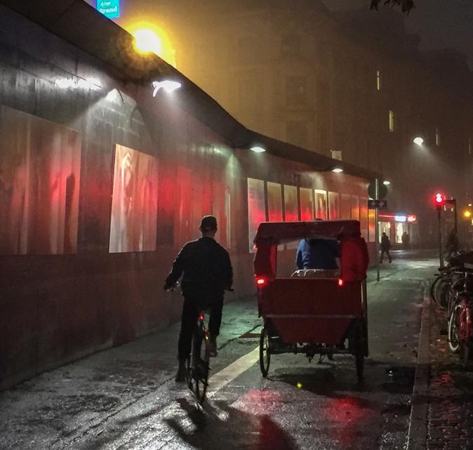 Evening Rain Bikers © Jan Oberg 2015