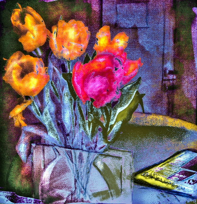 Tulips On Table - 2014