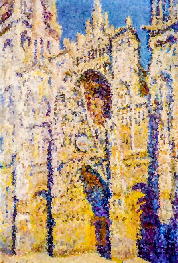 Rouen Cathedral # 4 - 2015 A suite of 10 individual works