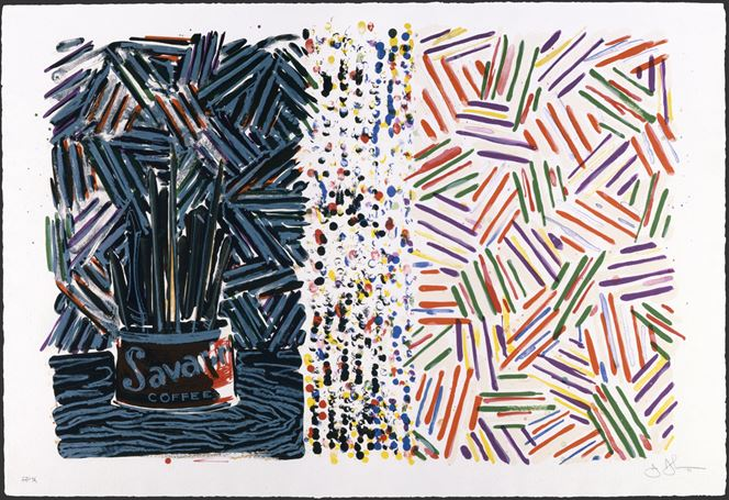 jasperjohns_1977_untitled